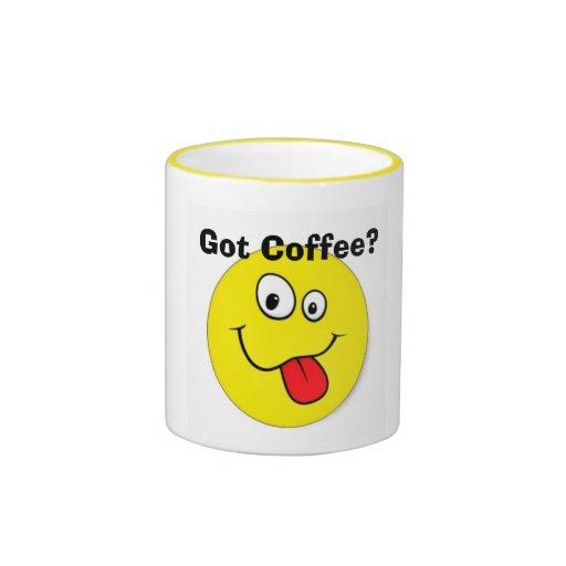 ¿Café conseguido? Taza