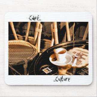Café Culture Mouse Pad