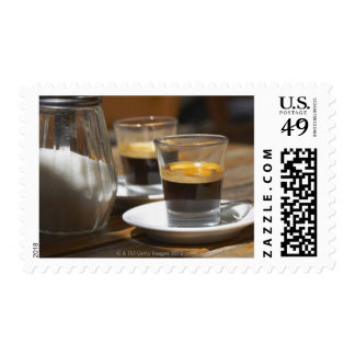 Cafe culture stamp