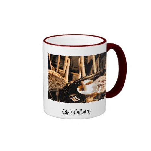 Café Culture Ringer Coffee Mug