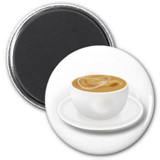 Café de Cuppa Imán Redondo 5 Cm