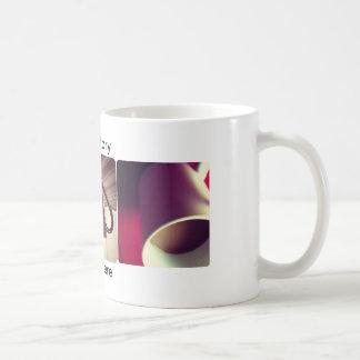 café de encargo de las fotos taza