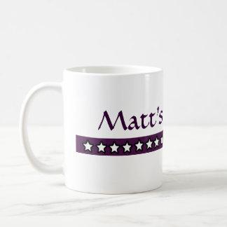 Café de encargo de Matt Tazas De Café