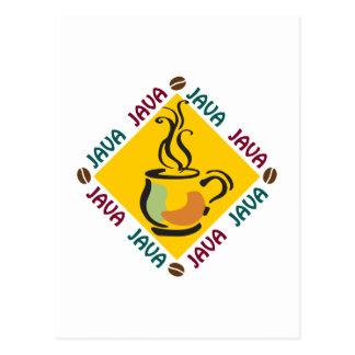 CAFÉ DE JAVA TARJETAS POSTALES