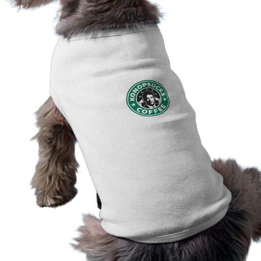 Café de Konop Camiseta De Perrito