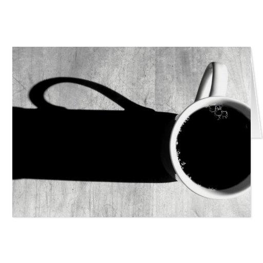 Café de la buena mañana felicitacion