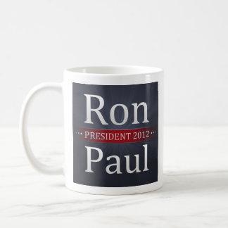 Café de la campaña de Ron Paul 2012/taza de té Taza Clásica