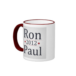Café de la campaña de Ron Paul 2012/taza de té Taza De Dos Colores