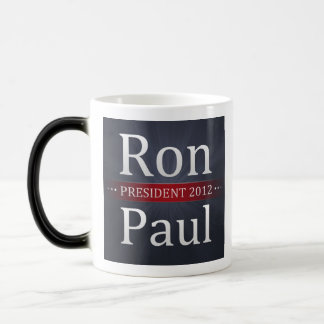 Café de la campaña de Ron Paul 2012/taza de té Taza Mágica