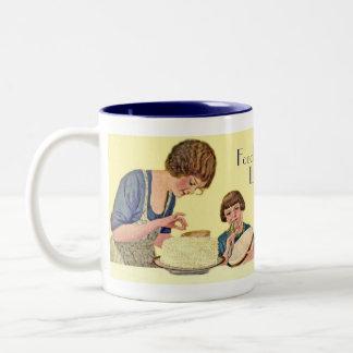 Café de la cocina del estilo del vintage y taza de