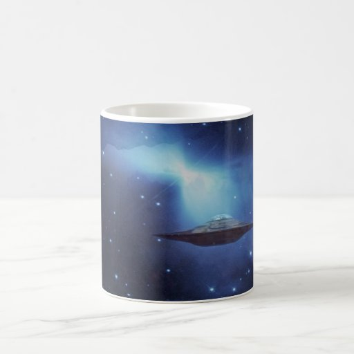 Café de la galaxia de la fantasía del UFO Taza De Café