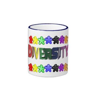 Café de la gente de Lil de la diversidad Tazas