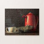 Café de la iguana puzzles con fotos