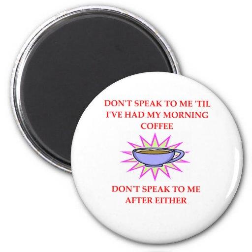 café de la mañana imán redondo 5 cm