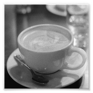 Café de la mañana (impresión) fotografía