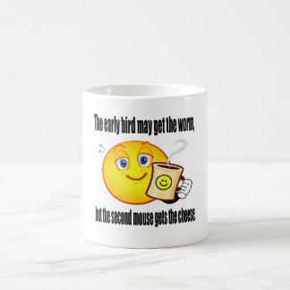 Café de la mañana tazas de café