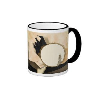 Café de la mañana taza de dos colores