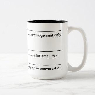 café de la mañana taza dos tonos