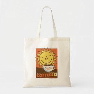 Café de la mezcla de la sol bolsa tela barata
