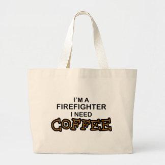 Café de la necesidad - bombero bolsa