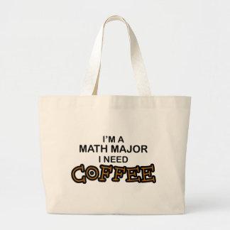 Café de la necesidad - comandante de matemáticas bolsas