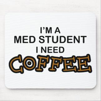 Café de la necesidad - estudiante del MED Tapete De Ratón