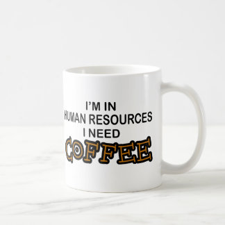 Café de la necesidad - recursos humanos tazas de café