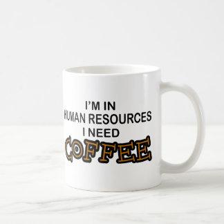 Café de la necesidad - recursos humanos taza clásica