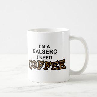 Café de la necesidad - Salsero Tazas