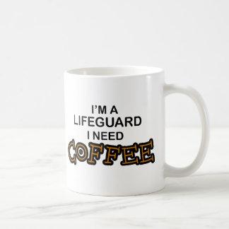 Café de la necesidad - salvavidas taza de café