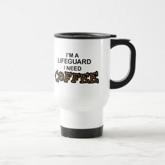 Café de la necesidad - salvavidas taza de viaje
