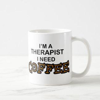 Café de la necesidad - terapeuta tazas de café