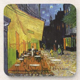 Café de la noche de Van Gogh Posavasos De Bebida