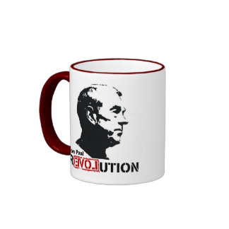 Café de la revolución de Ron Paul/taza de té/taza