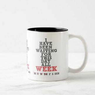 Café de la semana taza de café
