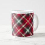 Café de la tela escocesa 20oz del navidad del mode taza extra grande