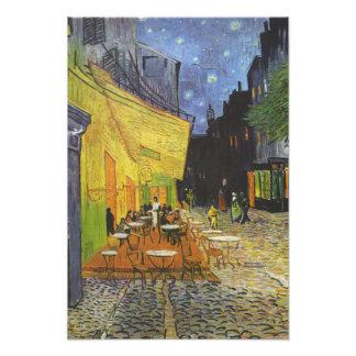 Café de la terraza de Van Gogh Fotografía