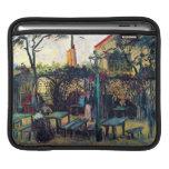 Café de la terraza en Montmartre Vincent van Gogh Fundas Para iPads