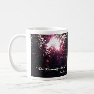 """Café """"de la zarza ardiente""""/taza del té taza clásica"""