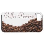 Café de los granos de café accionado iPhone 5 carcasa
