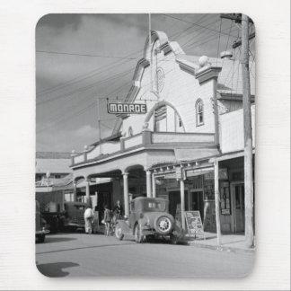 Café de Monroe Key West los años 30 Alfombrillas De Ratón