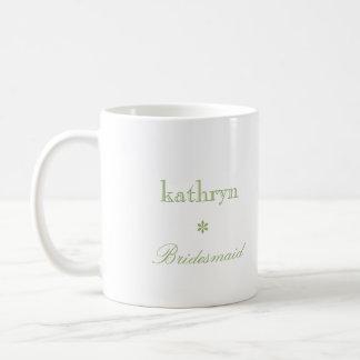 Café de muy buen gusto de la dama de honor de la taza