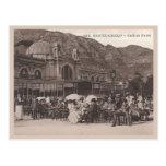 Café de París de Mónaco Tarjeta Postal