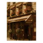 Café de París por día Tarjetas Postales