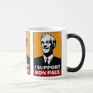 Café de Ron Paul/taza de té