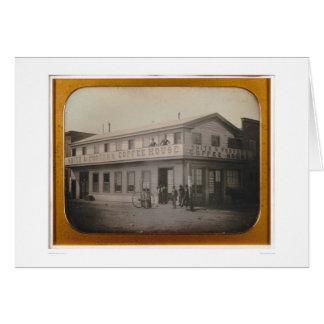 Café de Smith y del portero…  (40084) Tarjeta De Felicitación