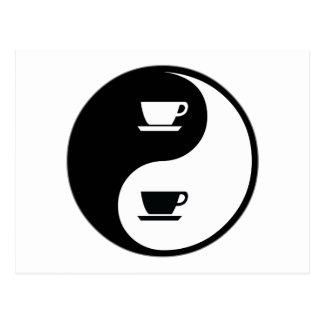Café de Yin Yang Postal