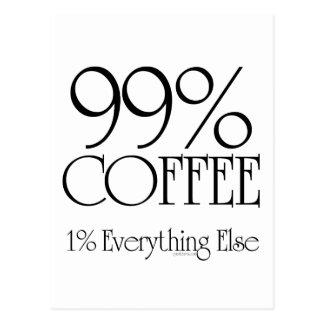 Café del 99% postales
