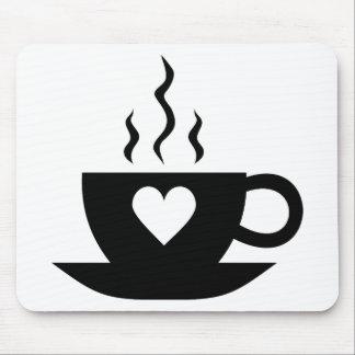 Café del amor tapete de raton