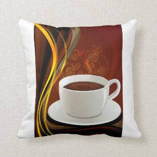 Café del arte del café almohadas